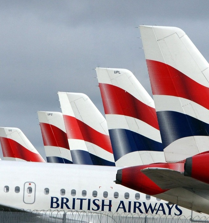 British Airways flights are disrupted following The major IT system failure