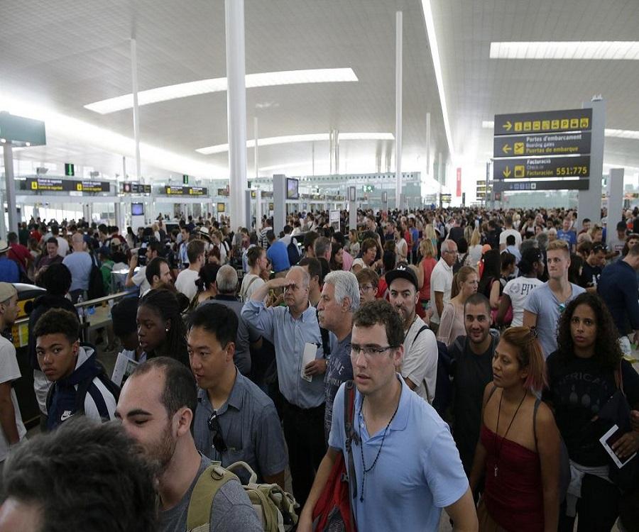Barcelona airport strikes cause severe delays