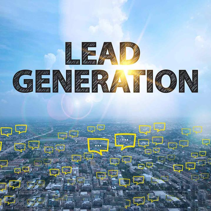 Lead generation at an exhibition…