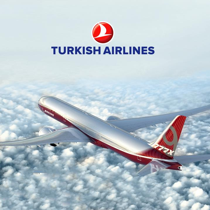 Turkish Airlines Is Thinking of The 777x Jet