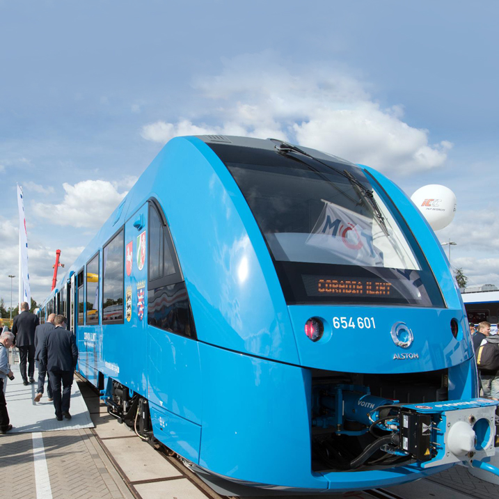 Hydrogen Power Germany Will Get World's First Hydrogen-Powered Trains in 2021